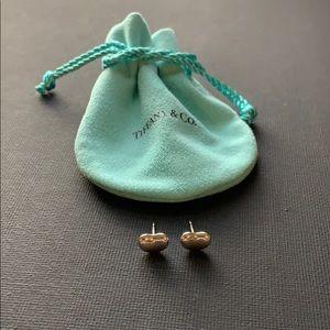 Tiffany and Co bean earrings
